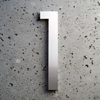 modern house numbers 1