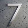 modern house numbers 7