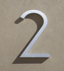 mid century modern house numbers 2