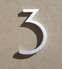 mid century house numbers 3