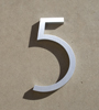 mid century house numbers 5