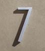 mid century house numbers 7
