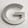 modern house numbers letter G