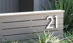 modern house numbers 40